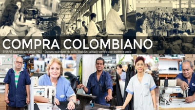 Everfit's 'Buy Colombian' Message on its Corporate Web Site
