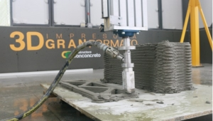 Conconcreto's New 3D Printer for Building Materials