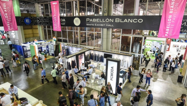 Colombiatex Show Floor at Medellin's Plaza Mayor