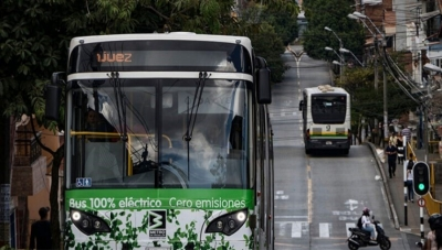 Electric Bus Fleet Dramatically Expands in Medellin