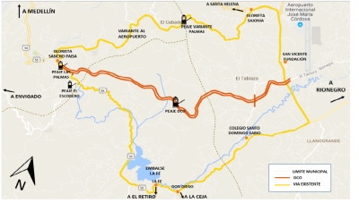 'Doble Calzada Oriente' (DCO) Proposed Highway Between Las Palmas and El Tablazo (Near JMC International Airport)