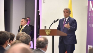 Colombia President Ivan Duque Hails New Tax Law at December 19, 2018 Conference