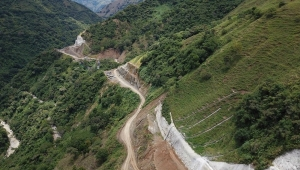 'Pacifico 1' Highway Construction Between Bolombolo and Amaga, Antioquia