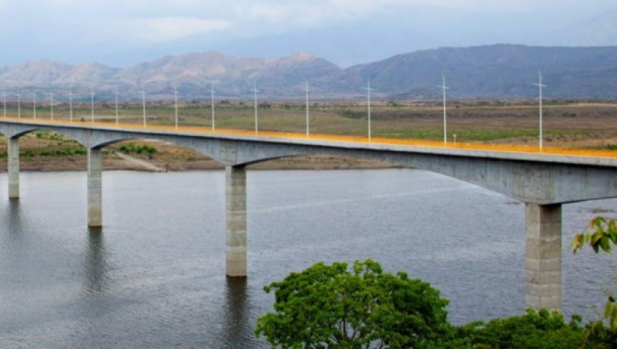 Colombia Bridge Built With Cemex Cement