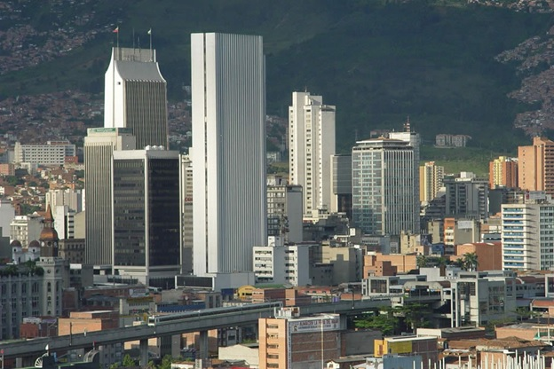 Downtown Medellin today/ Source: Gabriel Buitrago