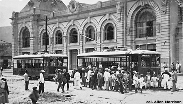 Tranvia de Medellin in early 20th Century / Source: EPM