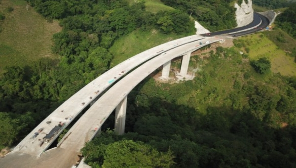 'Pacifico 1' Highway Construction Now 50% Complete