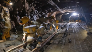Gran Colombia Gold Underground Mining Operation