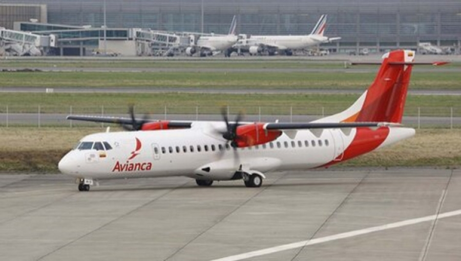 Avianca ATR-72 Aircraft to Service Medellin's Downtown Airport