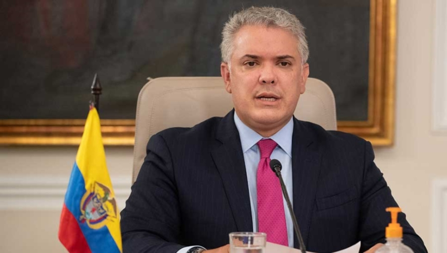 Colombia President Ivan Duque Announcing Covid-19 Regulatory Extension