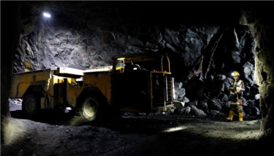 Gran Colombia Gold Mine in Antioquia