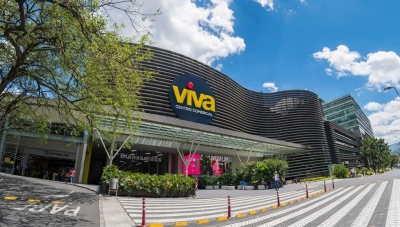 One of Grupo Exito's Popular 'Viva' Shopping Malls