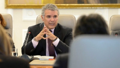 Colombia President Ivan Duque Explains Latest Coronavirus Measures on March 25, 2020
