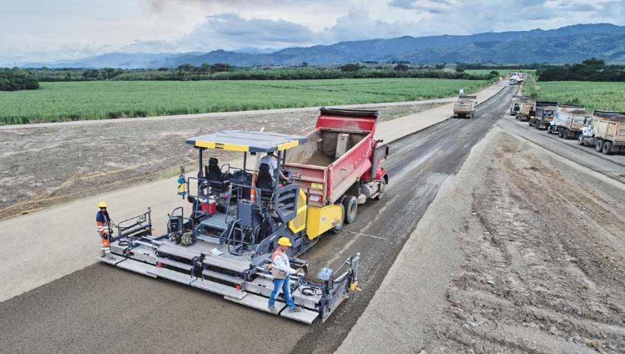 Highway Construction Project in Colombia