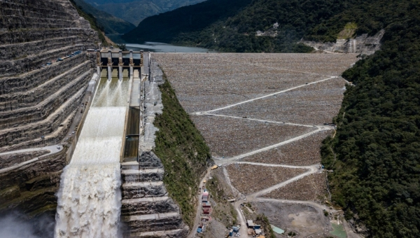 Hidroituango Dam Photo July 2019