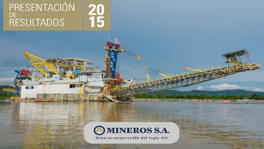 Mineros SA Full-Year 2015 Profits Jump 60% Despite Fall in Gold Prices