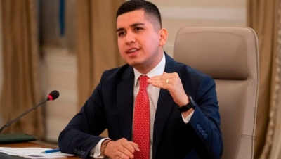 Colombia Housing Minister Jonathan Malagon