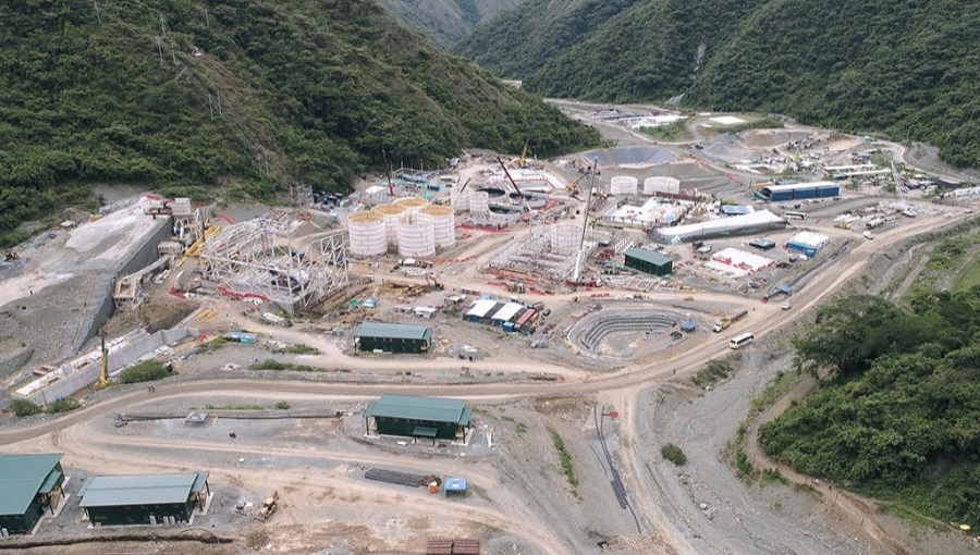 Continental Gold's Buritica, Antioquia Gold Mining Works at November 2019