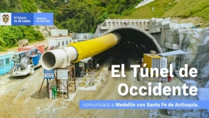 Tunel de Occidente Second-Tube Construction in Western Medllin