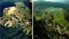 Before (left) and After (right): Environmentally Responsible 'Golden Cross' Mine in New Zealand