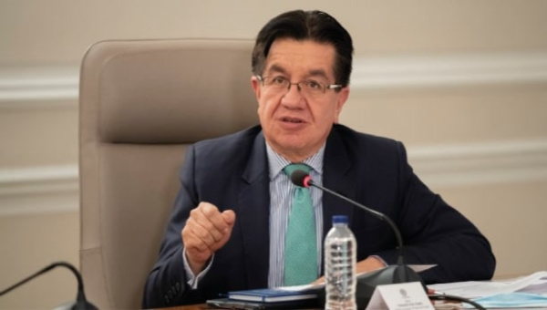 Colombia Health Minister Fernando Ruiz Urges Covid-19 Biosafety Compliance during June 24 National Broadcast