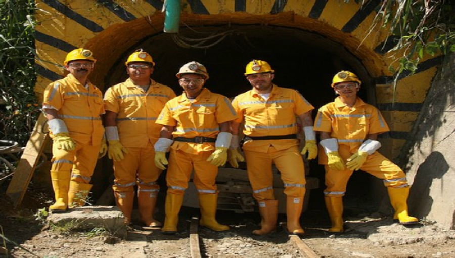 Gran Colombia Gold Miners in Antioquia