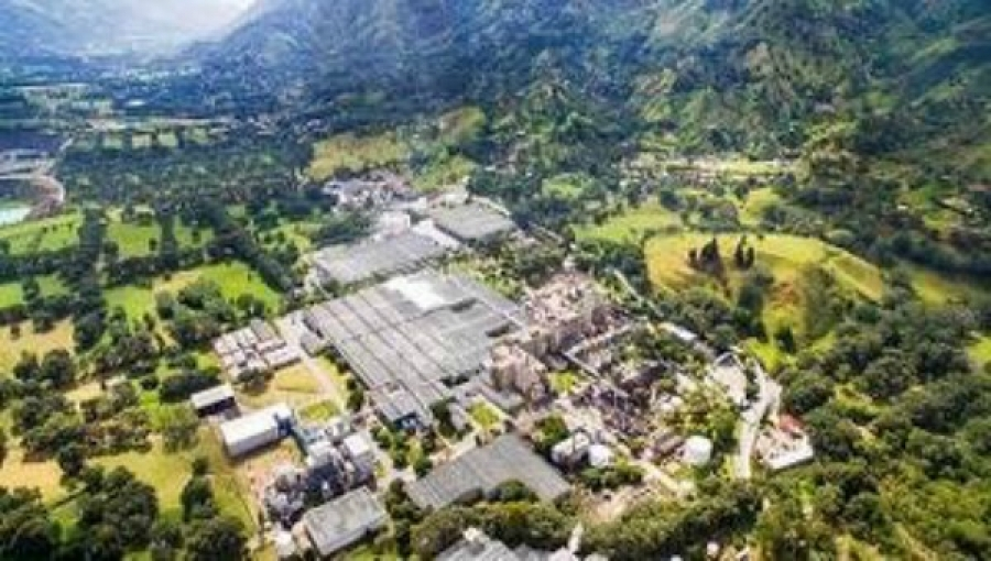 Enka Factory in Antioquia