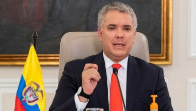 Colombia President Ivan Duque Announcing Covid-19 Quarantine through November 30