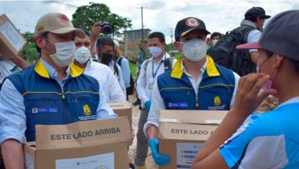 Coronavirus Health Workers in Colombia