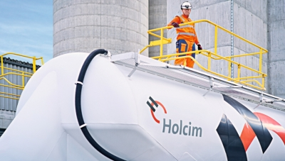 Holcim Cement Plant in Switzerland