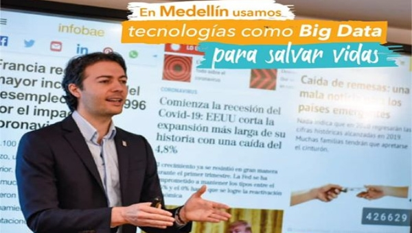 Medellin Mayor Daniel Quintero Explains Covid-19 Controls Scheme