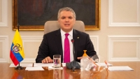 Colombia President Ivan Duque Announcing Quarantine Extension to May 25